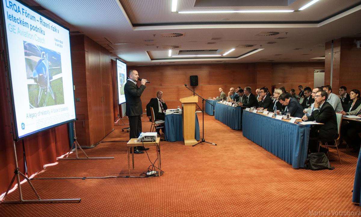 Konference LRQA Fórum, Praha 11. září 2014
