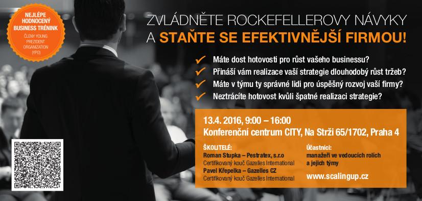 Zvládněte Rockefellerovy Návyky a staňte se efektivnější firmou