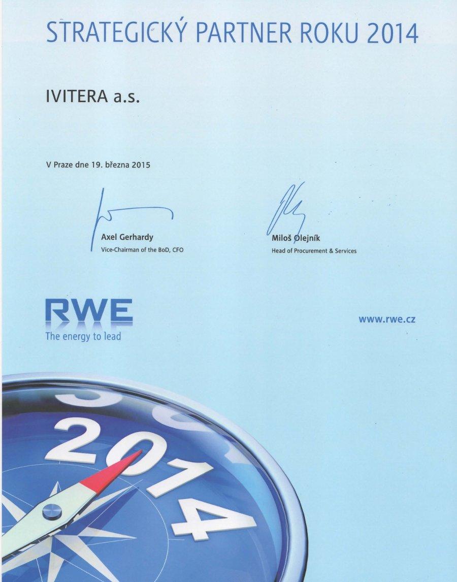 RWE - Strategický partner roku