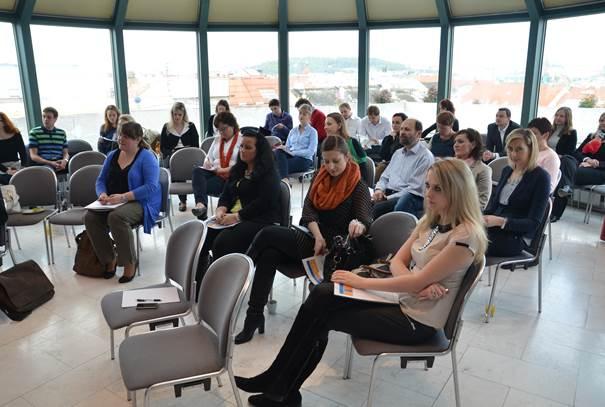 """Workshop společnosti OPENN """"Motivace zaměstnanců - inspirace z praxe úspěšných firem"""", Praha 10.4.2014."""