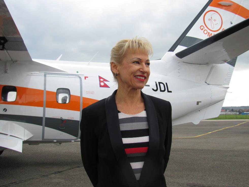 K hlavním speakerům konference patří Ilona Plšková, generální ředitelka společnosti Aircraft Industries, a.s.