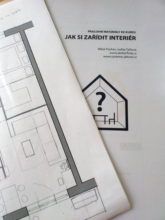 Příklad dispozičního řešení interiéru