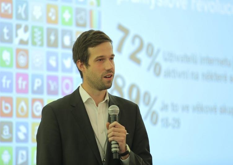 Martin Grau (Česká spořitelna) na konferenci Training & Development Forum 2014