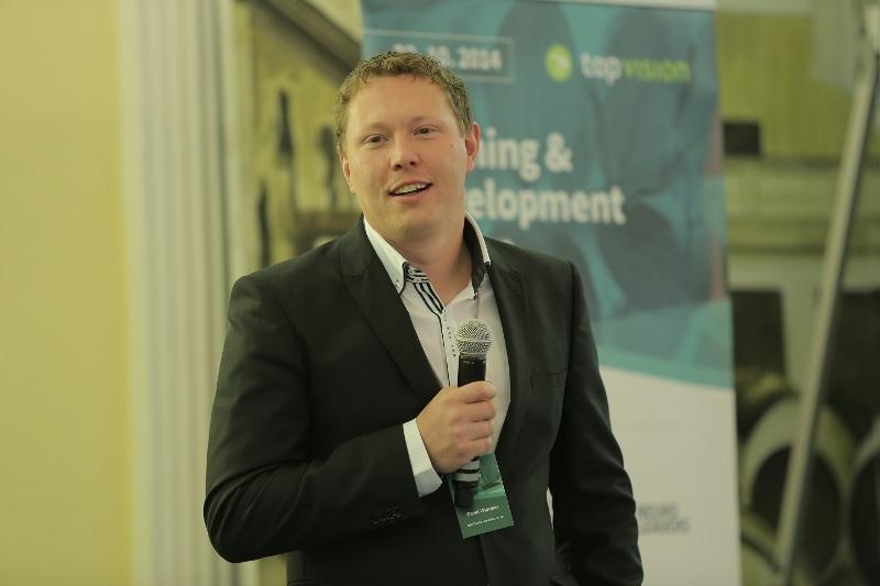 Pavel Wimmer (IBM) na konferenci Training & Development Forum 2014