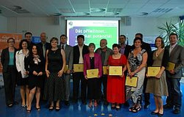 Slavnostní certifikace nových nositelů značky Efz (červen 2011)