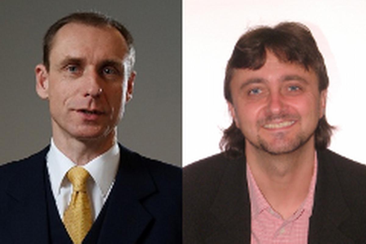 Ing. Milan Bobek, MSc. projekt manažer a senior konzultant FBE Praha (vlevo), Mgr. David Smik, jednatel a výkonný ředitel společnosti FBE Praha (vpravo)