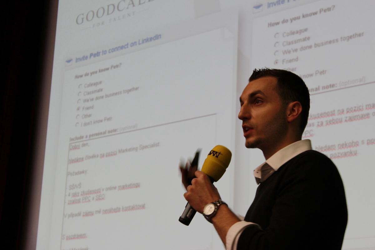 Josef Kadlec, Recruitment Academy