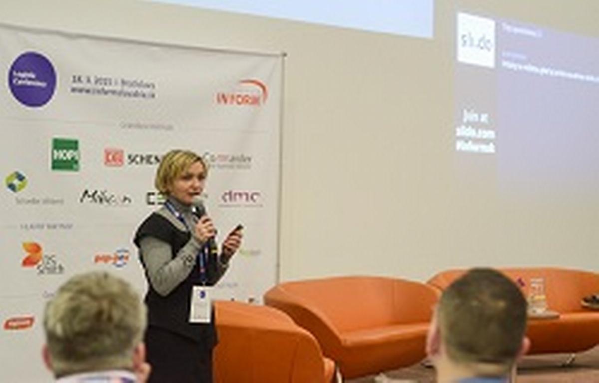 Jitka Tejnorová, partnerka DMC management consulting přednáší o roli Leanu v HR