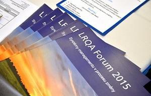 LRQA Forum 2015: Revidované normy ISO optikou firem s progresivními systémy managementu