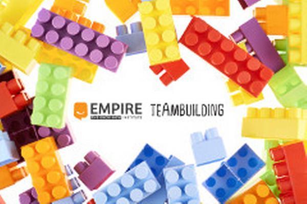 Empire Teambuilding s kostkami Lego®