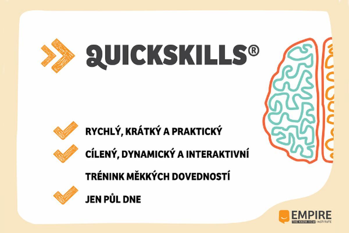 QuickSkills - krátké a úderné tréninky soft skills
