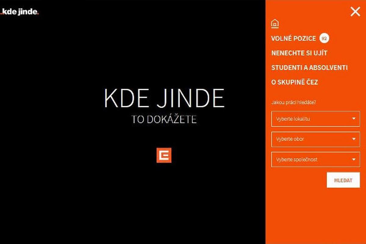 ČEZ: www.kdejinde.cz