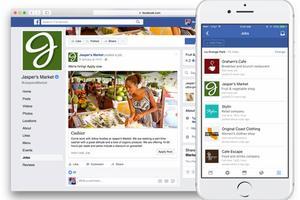 Facebook oficiálně vstoupil do světa náboru