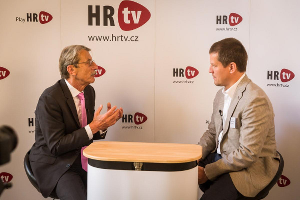 Jiří Hlavatý v HR tv. Foto: People Management Forum