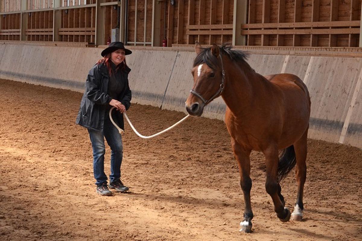 """Kurz """"Komunikace a sebepoznání pro ženy metodou horsemanship"""""""