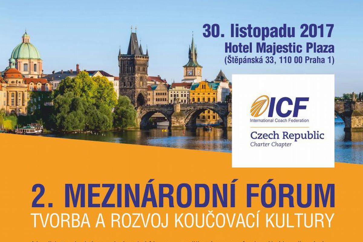 Vyhrajte vstupenku na 2. Mezinárodní fórum ICF ČR - Tvorba a rozvoj koučovací kultury