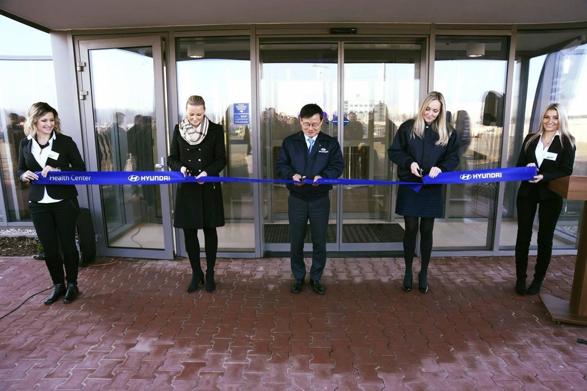 Otevření zdravotního centra pro zaměstnance Hyundai Motor Manufacturing Czech