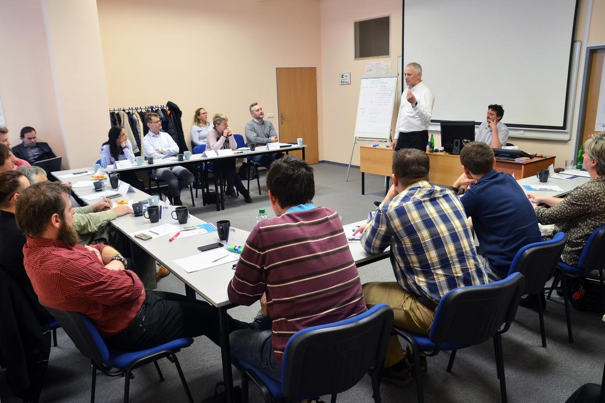 """Workshop FBE """"Jak dnes na rozvoj ve výrobních firmách"""""""
