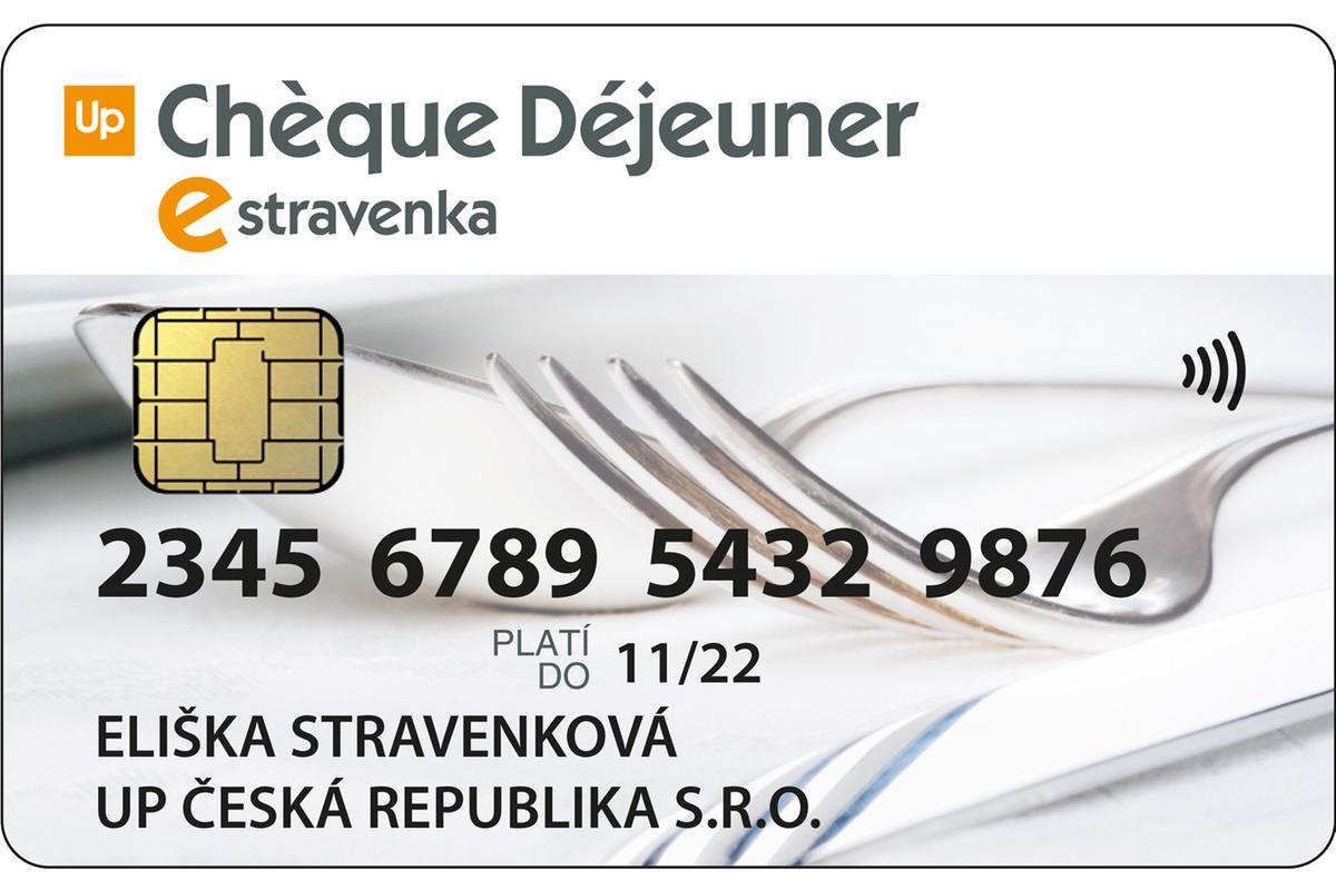 eStravenka - UpČeská republika (dříve Le Chèque Déjeuner