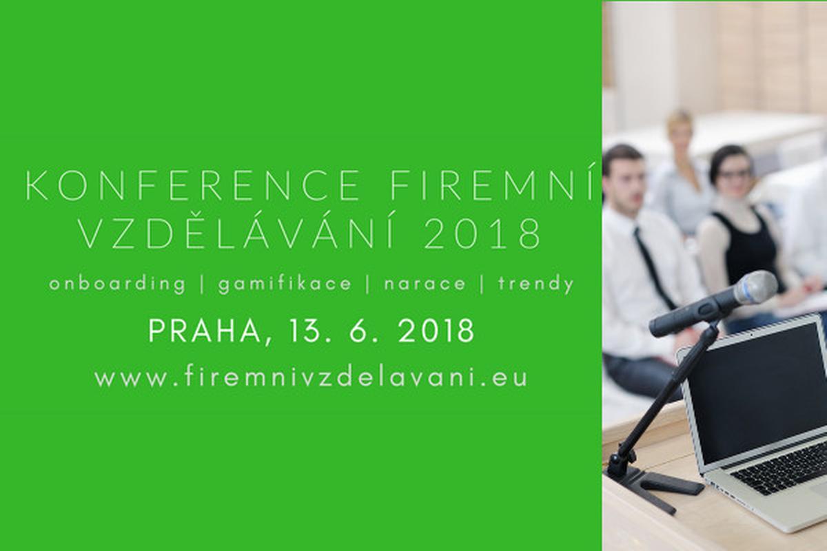 konference FIREMNÍ VZDĚLÁVÁNÍ 2018