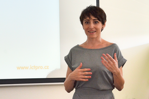 Lucia Ehrenholdová na kurzu Efektivní asistentka manažera, ICT Pro