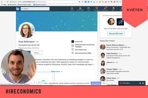 HIRECONOMICS květen: Poezie na LinkedInu, oslovování kandidátů videem a zdokonalování pracovních inzerátů