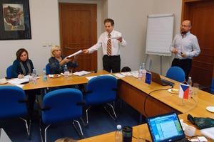 """Workshop ČSOB """"Firemní kultura a úspěch společnosti – návody z dílny světových lídrů"""", 29. listopadu 2013 v Liberci."""