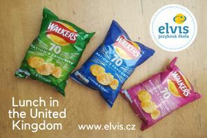 Angličtina s jazykovou školou Elvis: Oběd ve Spojeném království
