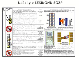 Ukázka z Lexikonu BOZP