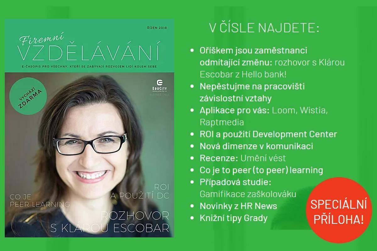 Firemní vzdělávání, říjen 2018