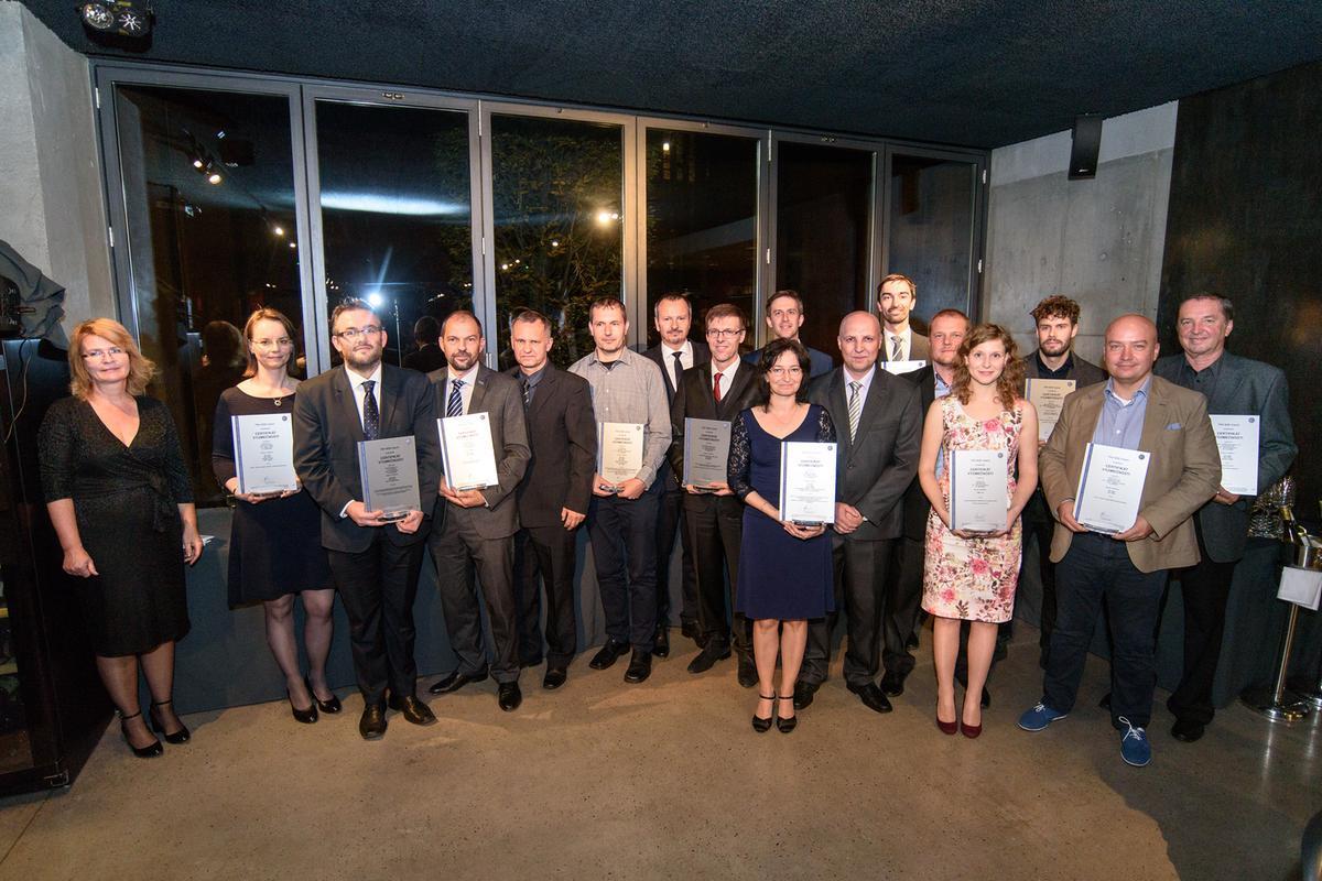 Certifikáty výjimečnosti 2018,TÜV SÜD
