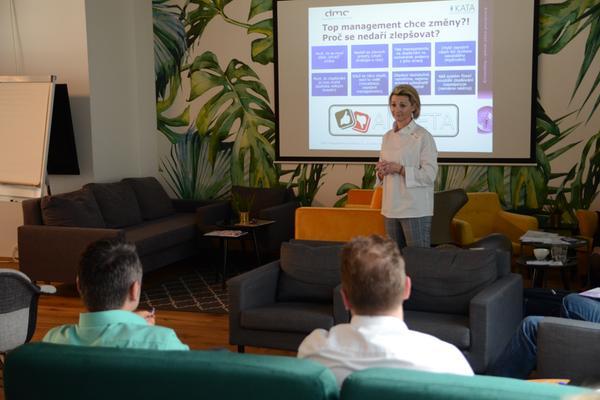Workshop: Agilní řízení a agilní týmy, DMC management consulting, Markéta Šimáková