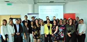 Slavnostní zahájení ICW2019 Brno VZPICF 29.4.2019