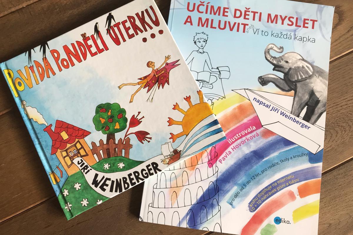 Soutěž o dětské knížky Jiřího Weinbergera: Povídá pondělí úterku, Učíme děti myslet a mluvit