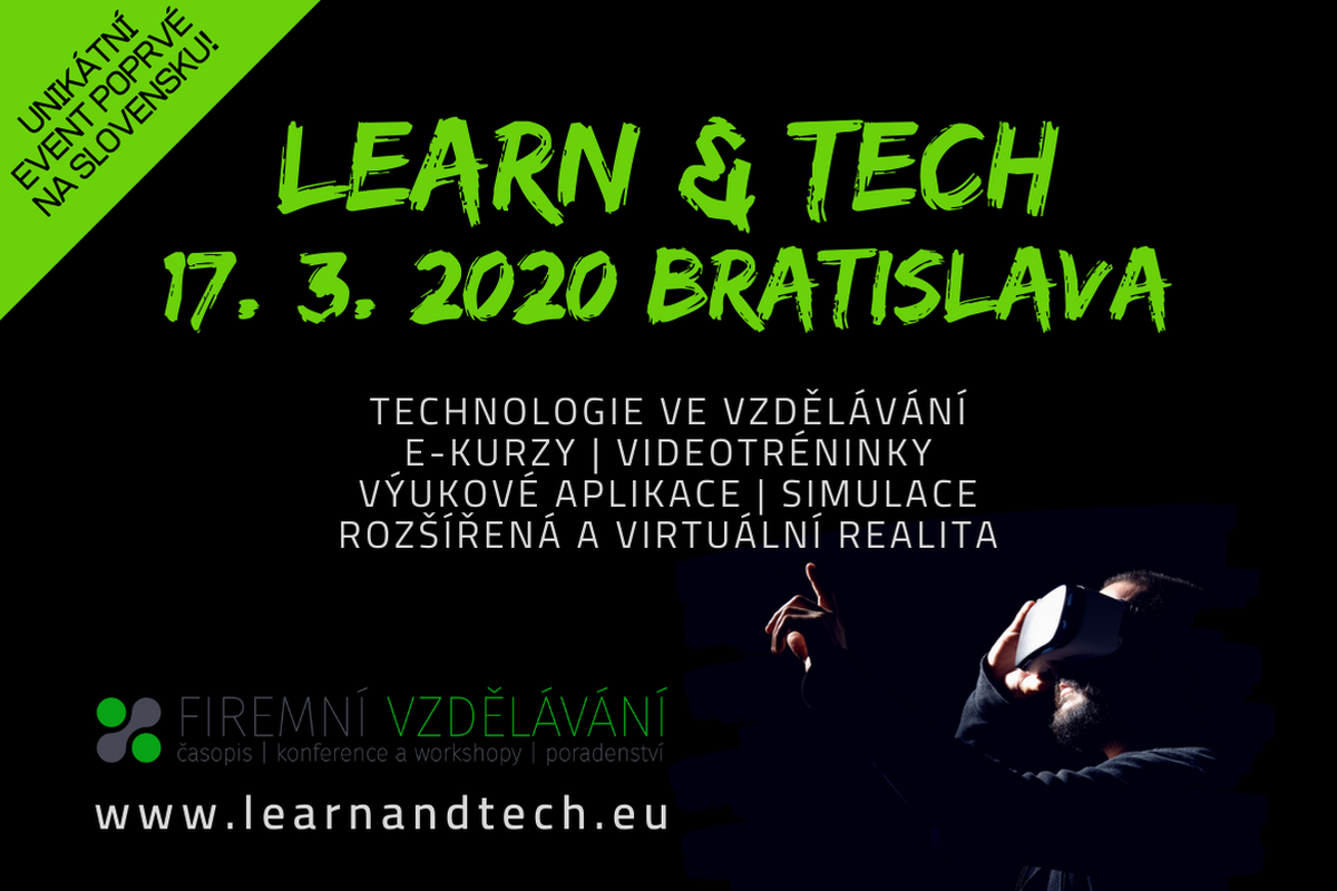 LEARN & TECH 2020 Bratislava