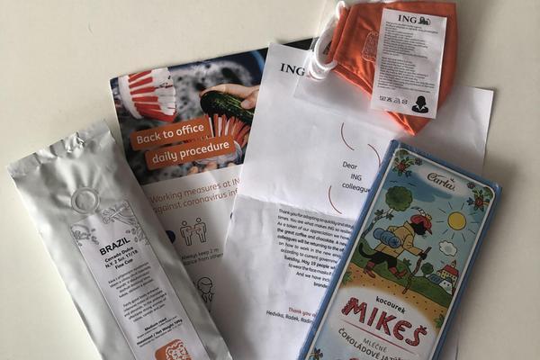 Návratový balíček ING