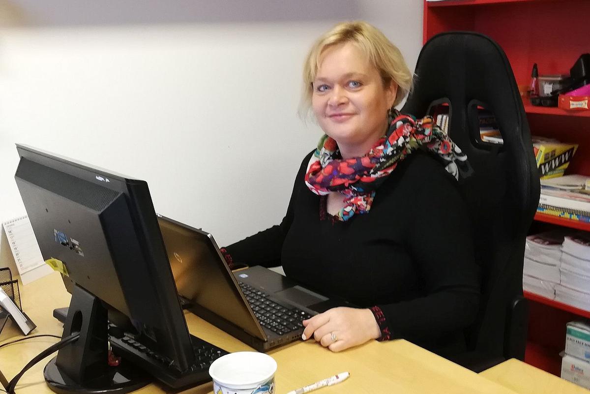 Gabriela Hrůzová, Centrum služeb pro podnikání