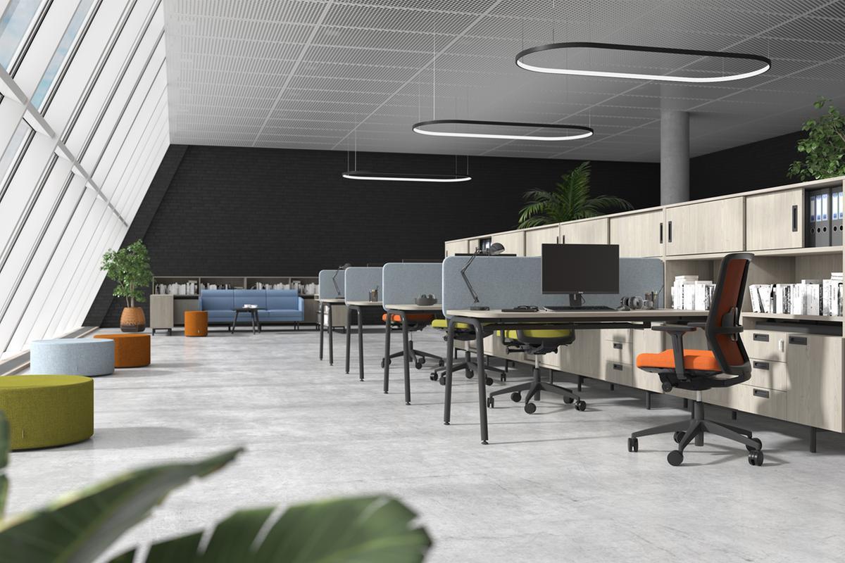 Stůl a židle nestačí. Na co myslet při vybavování kanceláře, aby se vní dobře pracovalo?
