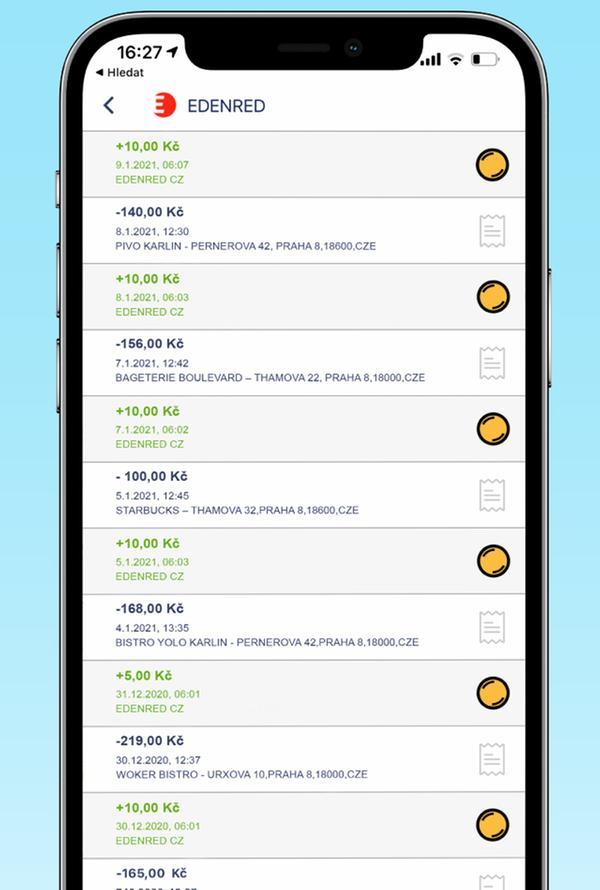 Edenred spustil nejrozsáhlejší cashback platformu sakčními nabídkamivtisících restaurací