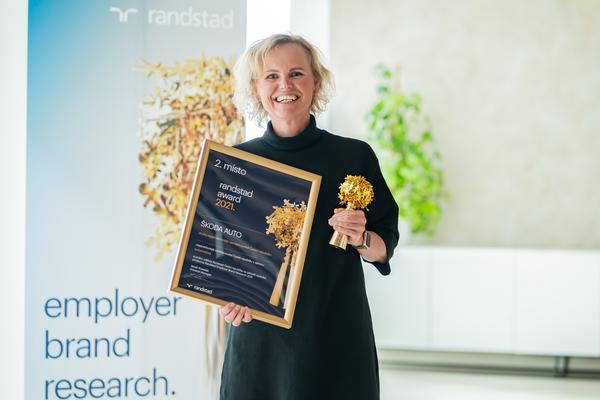 Randstad Award 2021 - Škoda Auto